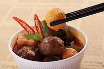 美味香菇丸子汤