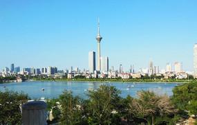 海上城市风景