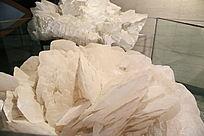 湖南产白色方解石