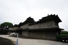 韩湘水博园 石牌楼