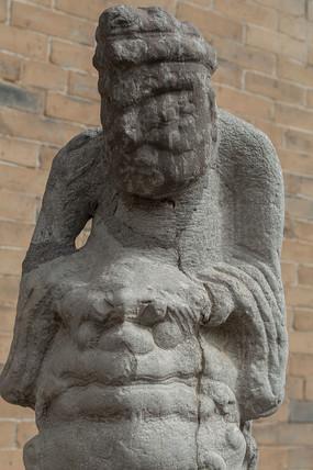 关中门口雕塑