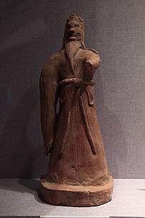 耶律铸墓陶像