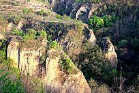 黄土高原上沟壑