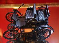 老爷车德国戴姆勒一号汽车模型
