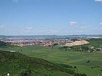 乡村自然风光图片
