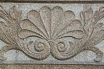 凤凰花纹雕刻