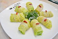 白菜卷虾条