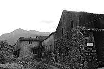 古村落石头墙