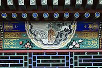 古建彩绘竹林雅士