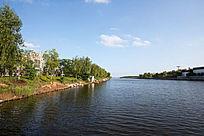 游艇水道河流