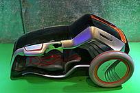 环保新能源小汽车模型