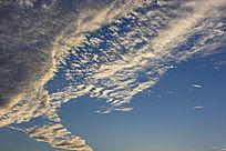 夕阳天空云彩