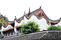 岳麓书院古建筑摄影图