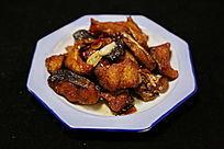 家常菜红烧鱼块