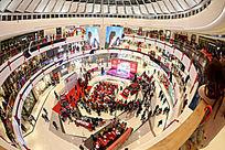 柳州城中万达广场大商业景象