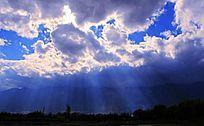 天空中的云朵