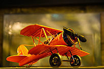 铁艺复古战斗机模型