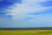 呼和诺尔湖牧场风景