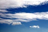 蓝天白云 白云飘飘 天空 白云 蓝天 背景素材