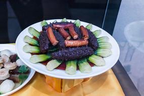 特色菜葱烧海参