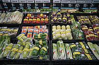 包装的蔬菜