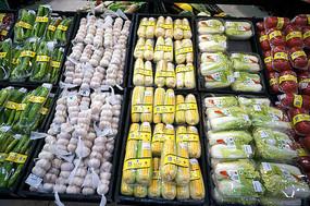 超市内的农副产品