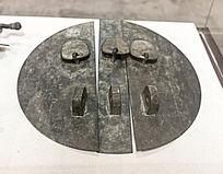 圆盘型的馆藏家具铜饰