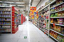 超市促销货架