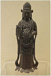 观世音菩萨铜像
