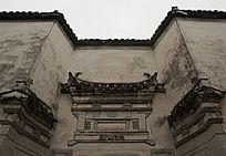 徽派建筑门楼