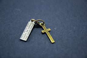 金属十字架吊坠挂件