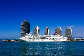 三亚湾海景
