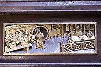 古代家具装饰浮雕