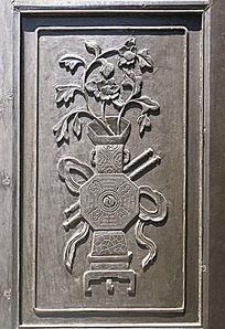 古代木家具装饰图案雕刻