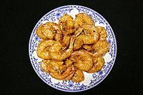 家常菜油炸大虾