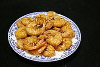 家常菜油炸大虾子