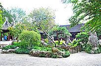 苏州园林景观素材摄影