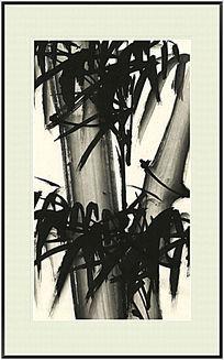 国画竹子 节节高升
