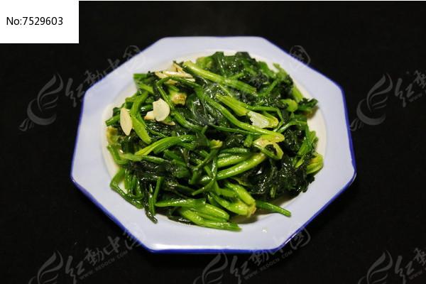 家常菜炒菠菜图片