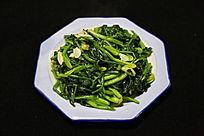 家常菜炒菠菜