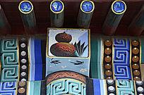 古建彩绘铜器古书