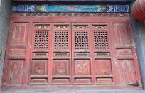 古建筑的木质门窗-古建筑摄影