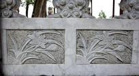 兰花图案石雕-雕刻艺术