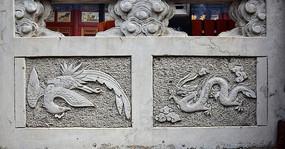 龙凤图案石雕-雕刻艺术