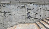 文化宣传石雕-石刻艺术