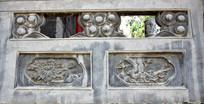 中国元素花卉石雕-雕刻艺术