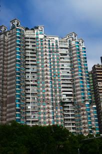 大夏建筑风景图片