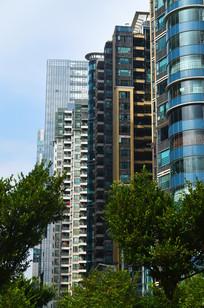 高楼大夏建筑风景