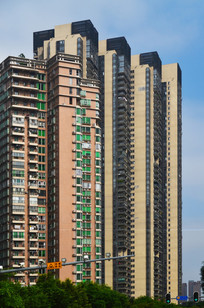 高耸的高楼建筑图片