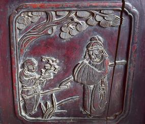 古代人物浮雕